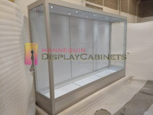 glass mannequin display cabinets